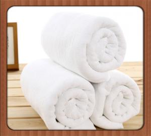 China Cheap price wholesale bath room hotel 100% cotton white towel on sale