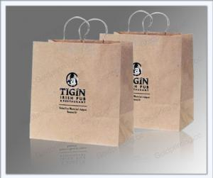 China paper bread bag on sale