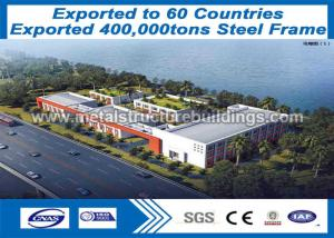China Professional Lightweight Steel Truss Formed Metal Buildins With Aluminium Window on sale