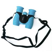 Blue Mini 8x21 Kids Plastic Binoculars Shockproof Kids Toy Binoculars