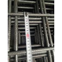 China 6x2.4 Meter Concrete Reinforcing Welded Wire Mesh Square Hole Shape on sale