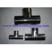 A403 WP316L WP321 WP310S Stainless Steel Tee Equal Seamless Reducer Tee