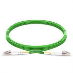 China Duplex Lc To Lc Multimode Fiber Patch Cable , 50/125μM Om5 Fiber Optic Cable on sale
