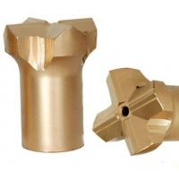 China Tungsten Carbide Material Drill Bits For Rock And Concrete , Tapered Cross Bit on sale