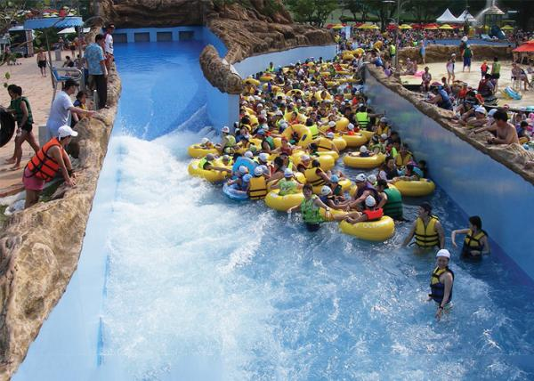 Custom Outdoor Lazy Pool Tropical Wave River Family Summer Entertainment For Sale Water Park Lazy River Manufacturer From China 107970245