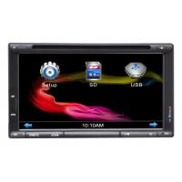 6.95 Inch Touch Screen Car Dvd Player / Car Monitor / Lcd / 2 Din Car Dvd Player-Cr-6953