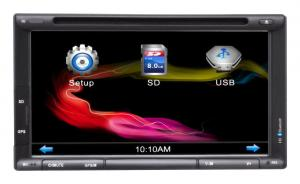China 6.95 Inch Touch Screen Car Dvd Player / Car Monitor / Lcd / 2 Din Car Dvd Player-Cr-6953 on sale