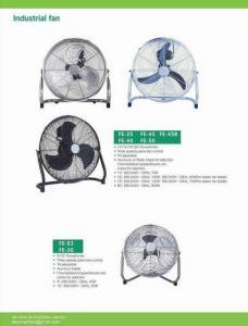 China Metal Floor Fan 9'' 12'' 14'' 16'' 18'' 20'' on sale