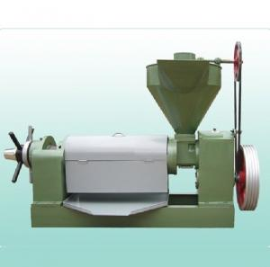 China Industrial Screw Oil Press Machine For Rapeseed Oil Cabbage Bitter Herbs on sale
