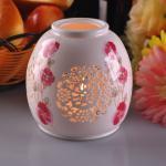 個人化された陶磁器の蝋燭ホールダー ハンドメイドの耐熱性ASTMテスト
