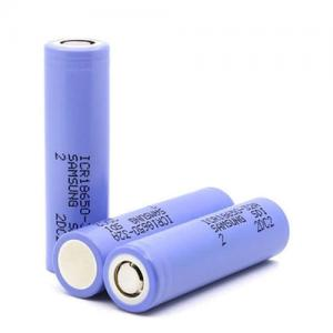 China Purple Color ICR18650-32A 18650 Lithium Ion Cells 3.6 Volt 3200mAh For Laptop Battery on sale