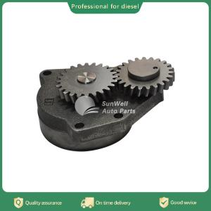 China 6L QSL ISC QSC Chinese supplier diesel engine spare part oil pump  3950005 on sale