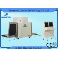 Dual Energy Security X Ray Baggage Scanner Machine With 19