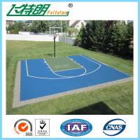 China PU 4mm Sport Court Surface Safety Polyurethane Floor Paint Smooth Seamless on sale