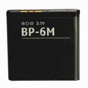 China BP-6M Mobile Phone Battery, 1,000mAh on sale