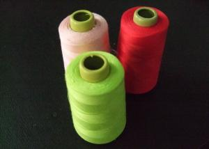 China 40s Coats Sewing Thread , Green Red Pink Polyester Thread on sale