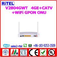 V2804GWT   4GE+CATV+WiFi GPON ONU