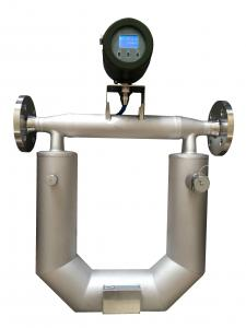 China Coriolis mass flow meter for gasoline, liquefied petroleum , kerosene, diesel fuel, oil, oil-water on sale