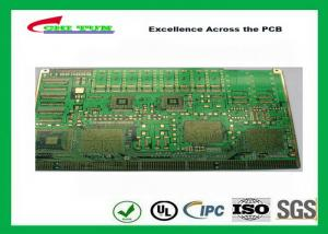 China Custom PCB Manufacturing Chem Gold 6 Layer SMD LED PCB Board on sale