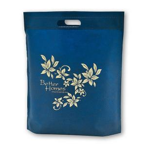 China 35x45cm Non Woven Tote Bag / Non Woven Fabric Shopping Bags Custom Logo Available on sale