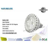 Cool White GU5.3 LED Spotlight Bulbs MR16  Outdoor  4pcs 279 - 315lm