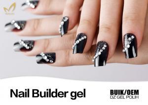 China Soak Off 1 Kg Bulk Nail Builder Gel At Home Use No Chips OEM / ODM Service on sale