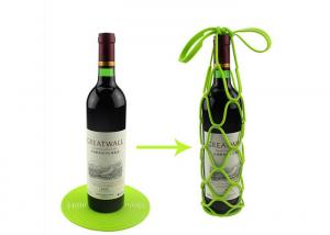 China Reusabled High Tension Silicone Red Wine bottle Tote Kitchen Tools on sale