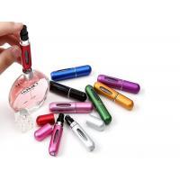 Aluminum Travel Perfume Atomiser 3ml 5ml Disposable Vape Metal Bottle Oil Refill