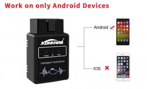 China Android Automotive Fault Code Reader Konnwei KW912 Obd2 Elm327 Test Fuel Trim on sale