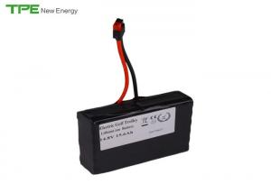 China 12V 15.6Ah Portable Battery Pack , Golf Trolly Rechargeable Lithium Battery Pack on sale