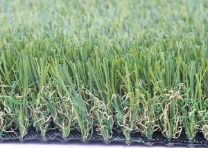 China UV Resistance Non - stain Garden Artificial Grass 20 mm – 40 mm Yarn Height on sale
