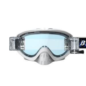 China Professional Clear Snowboard Goggles Motocross Goggles Double Lens OEM on sale