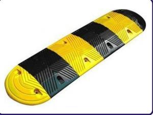 China Good Quality Rubber Traffic Safety Driveway Road Hump Speed Bump on sale