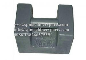 China Manufacture and Fabrication standard class M3 approved 25 lb cast iron test weights with grip handle on sale
