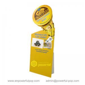 China DIY Custom Advertising Cardboard Standee on sale