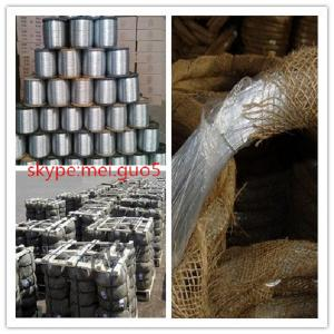 China Supply galvanized steel wire/electro galvanized wire(high quality and low price) on sale