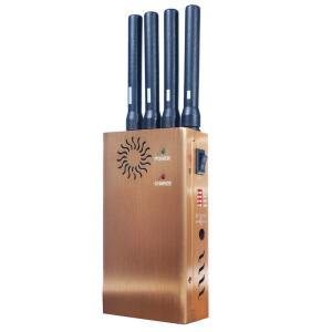 China Chinajammerblocker.com: China Signal Jammers | Portable 4 Bands CDMA 3G GSM GPS Cellphone Signal Jammer on sale