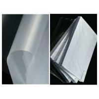 China Laser Engraving A4 Polycarbonate Uncoated Overlay PC Films on sale