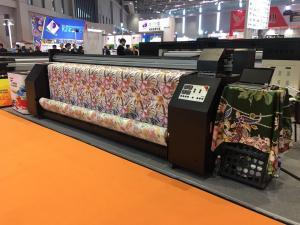 China CMYK Four Colour Epson Head Digital Fabric Printing Machine on sale