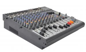 Quality 12 Channel Professional Audio Mixer Audio Stage Mixing Console X1222USB for sale