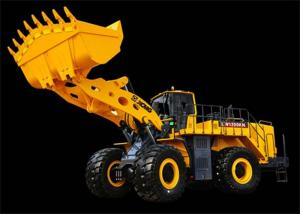 China Low Emission Cummins Engine Heavy Front End XCMG Wheel Loader LW1200KN on sale