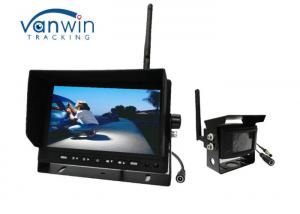 China Wireless Rearview TFT Car Monitor , 12V Wireless Camera Kit For Dashboard on sale