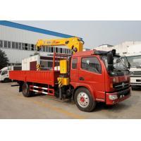 DFA1063DJ10 Mobile Crane Truck With Cummins 140 hp Matching XCMG Crane
