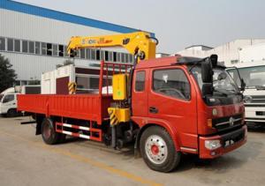 China DFA1063DJ10 Mobile Crane Truck With Cummins 140 hp Matching XCMG Crane on sale
