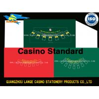 Professional Casino Poker Table Cloth Black Jack Table Layout Blackjack Table Felt