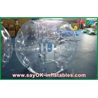 0.8mm PVC Adult Inflatable Human Bubble Zorb Soccer Ball For Sports Games