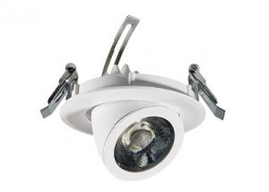 China Adjustable 40W Angled Gimbal LED Downlight With Aluminum Alloy Lamp Body 3500lm on sale