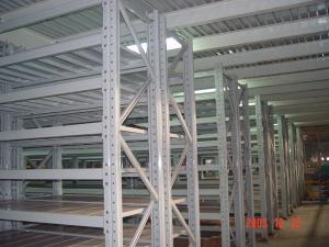 China Q235B Raw Material Multi Tier Racking System Multilayer Shelf Racks on sale