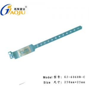 China GJ-6060R PVC Disposable RFID Wristbands For Events, Health Club, Golf Club on sale