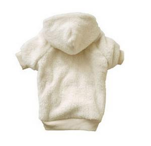 China Fashion Polar Fleece Hoodie Dog Coats for Winter Pet Clothes For Cats on sale